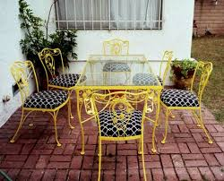 yellow patio furniture. Need Ideas And Instruction On Sprucing Up Some Patio Furniture I Inherited! Yellow T