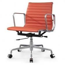 office orange. meelano m341 office chair italian orange leather