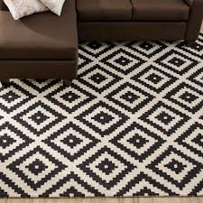 black and cream throw rugs