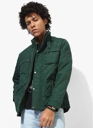 Buy Tommy Hilfiger Green Solid Quilted Jacket for Men Online India ... & Buy Tommy Hilfiger Green Solid Quilted Jacket for Men Online India, Best  Prices, Reviews | TO348MA94VJEINDFAS Adamdwight.com