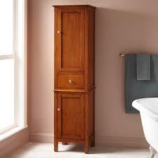 Floor Storage Cabinets Southcrest Linen Storage Cabinet Bathroom