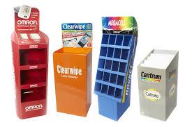 Retail Product Display Stands Custom Cardboard Product Retail Display Stands PPI 17