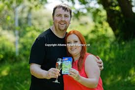 Lotto millionaires William and Sophie Richards at the Towers Hotel near  Swansea, Wales, UK | Athena Pictures