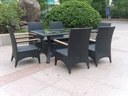 rattan garden dining set oceans outdoor