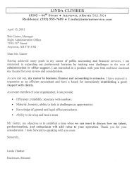 Cover Letters Examples For Accountants Sample Cover Letter