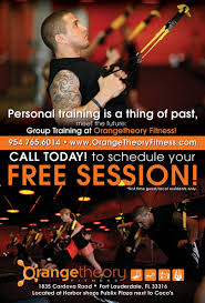 Orange Theory Fitness – Flyer – Ad – Advertisement |