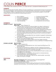 retail merchandising manager resume furniture sales resume