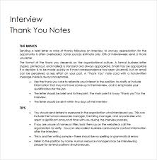 Brilliant Ideas Of Thank You Letter After Interview To Hr Brilliant