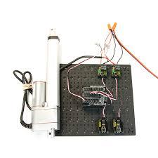 arduino linear actuator tutorial preset position button control