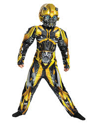 Transformers Bumblebee Kids Muscle Costume ☆