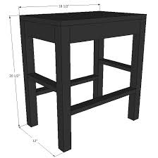 Vanity Stools For Bathrooms New How To Make A Vanity Stool Our Happy Home Pinterest Vanity
