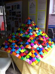 Tetrahedron Kite Template Fresh Sierpinski Pyramid Math For Kids ...