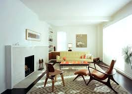 mid century fireplace ideas mid century fireplace mid century modern furniture with sofa and wood chair mid century fireplace