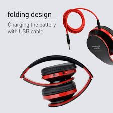 koyot wireless bluetooth headset headphones stereo foldable sport earphone bluetooth earphone microphone headset and earhook 2