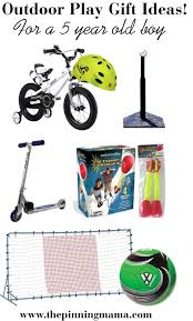 Best Outdoor Play Gift Ideas for a 5 Year Old Boy! Including Bike, baseball \u2022 The Pinning Mama