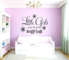 little girl wall decor charming ideas girls bedroom decals stickers cute designs for a teenage room