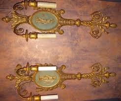 wall sconce ideas fantastic ornate antique candle wall sconces