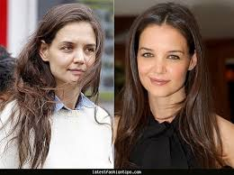 stars without makeup katie holmes pictured the real face of fame ny daily news