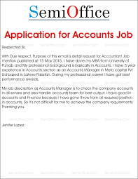 Application For Accountant Ukranagdiffusion Classy Accounting Job Cover Letter