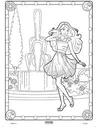Small Picture Color Alive Barbie Coloring Page crayolacom