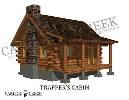 Small Log Cabin Building Plans