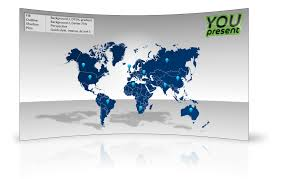 Editable World Map For Powerpoint World Map Template For Powerpoint Youpresent