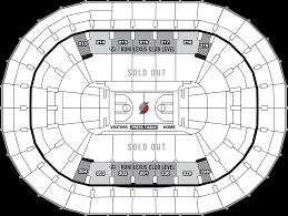 Moda Center Seating Chart Hockey Moda Center Seat Map The Best Orange
