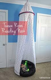 diy reading nook easy teen room decor ideas for girls