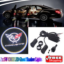 Chevy Shadow Lights 2 X 5w Led Car Ghost Shadow Lights For Chevrolet Chevy