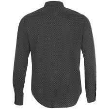 <b>Рубашка мужская BECKER MEN</b>, темно-серая с белым