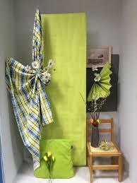 Etalage Van Behangpapier Linnen En Woning Decoratie Mode Kleur