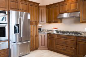 Red Kitchen Cabinets Photos Granite With Natural Cherry Cabinets
