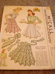 Vintage Apron Patterns Amazing Gold Country Girls Lovin' Those Vintage Apron Patterns