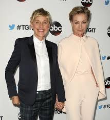 Ellen And Portia See Ellen Degeneres And Her Wife Portia De Rossis Cutest Moments