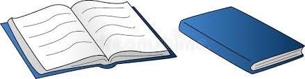 open and closed book stock vector ilration of blue 42175884