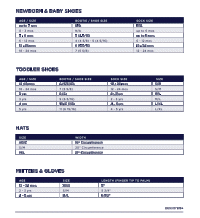 Gap Size Chart By Age Gap Size Chart Jeans