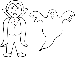 Small Picture Ghost Coloring Page Excellent brmcdigitaldownloadscom