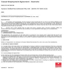 This agreement is made and takes effect on mm/dd/yyyy between (company), a (state) corporation, hereafter called 1. Australian Employment Contract Template Free Template Tips