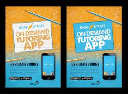 Make Flyer App Entry 19 By Belliskc For Design A Tutoring App Flyer