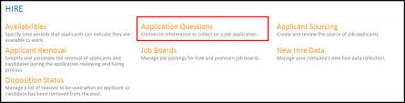 job application questions administrators application questions how do i configure my job
