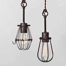 modern industrial pendant lighting. Oval Wire Bulb Cage Pendant Light Trouble Lamp Vintage Industrial Rustic Modern Style Lighting