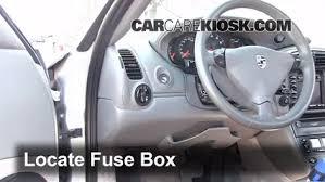 interior fuse box location 1998 2005 porsche 911 2000 porsche 911 2000 porsche 911 carrera 4 3 4l 6 cyl convertible fuse interior check