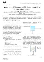 Distributor Plate Design Pdf Modeling And Simulation Of Ammonia Synthesis In