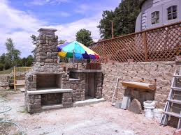 The Szymski Family Wood Fired Brick Pizza Oven and Fireplace Combo in  Arkansas by BrickWood Ovens