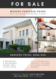 real estate flyer templates charcoal and pastel real estate flyer templates by canva