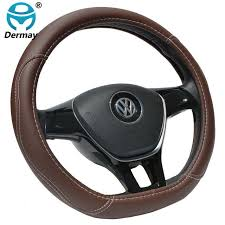 Online Shop DERMAY <b>D Shape</b> Microfiber <b>Leather</b> Car Steering ...