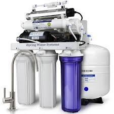 Under Sink Filter Systems Ispring 7 Stage W Booster Pump Alkaline Re M Filter And Uv