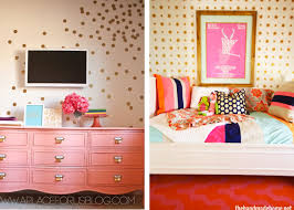 quality contact paper for walls diy gold polka dot wall the homes i have made