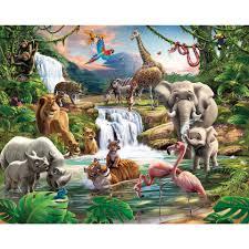 Jungle Adventure Behang 12 Stukken
