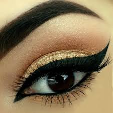 makeup beauty and eyes image
